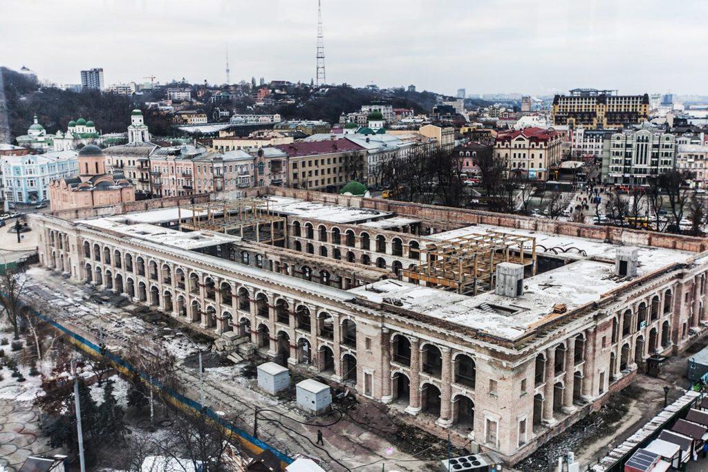 втрачений київ, архітектура, гостинний двір, 2013