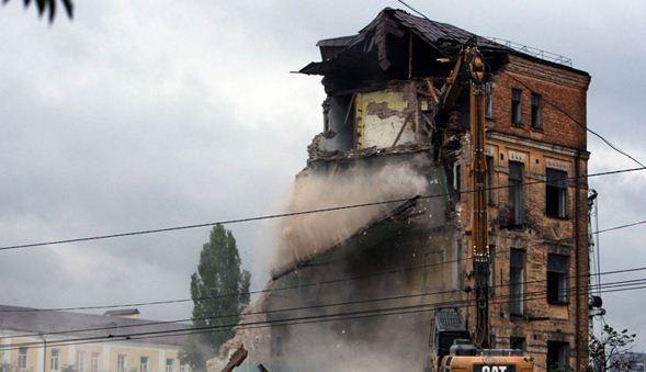 втрачений київ, архітектура, прибутковий будинок, вулиця антоновича 44