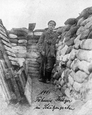Ернст Юнґер на Першій світовій війні. 1915 рік