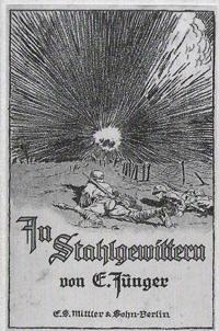 ернст юнґер, перша світова війна, олена семеняка, техніка, новий націоналізм, сталеві грози, вогонь і кров, штурм